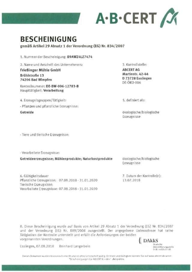 thumbnail of Bio Bescheinigung 2019_dt