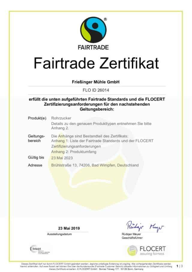 thumbnail of Fairtrade-Zertifikat 2019