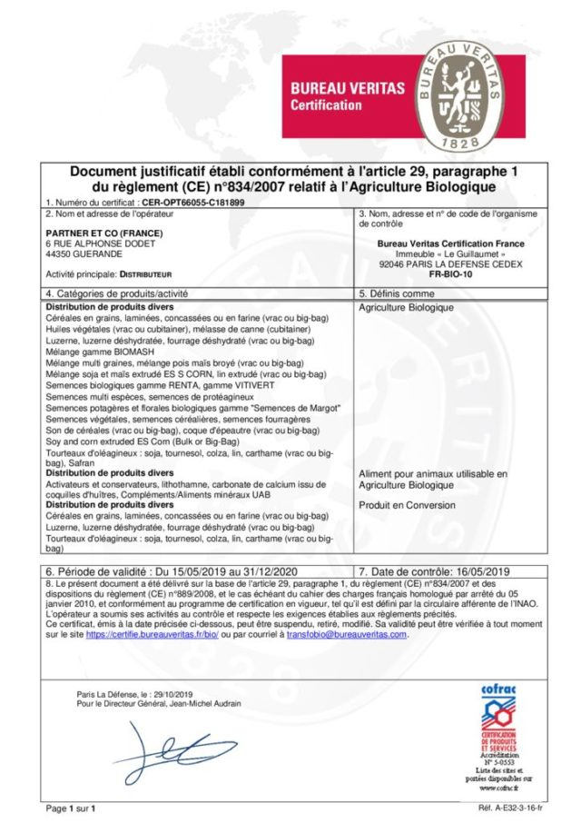 thumbnail of Certificat Partner & Co – CER-OPT66055-C181899 au 31-12-2020